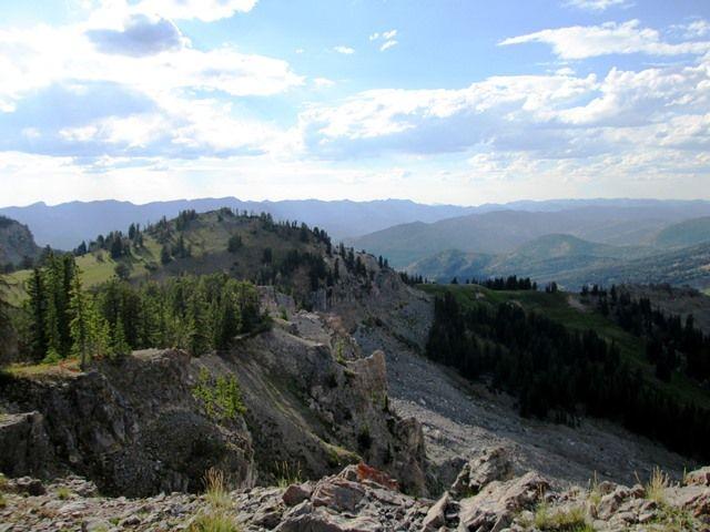 Ridge near Gunsight Pass - Wyoming Range